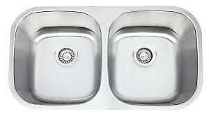 New Double Bowl Kitchen Sink
