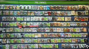 Xbox 360 games and controllers. Lots of them