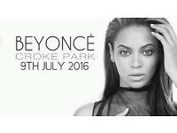 Beyonce Croke Park 9th July seating looking to swap for pitch.