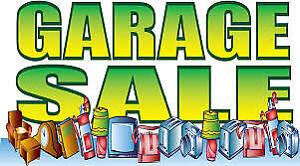 garage sale    Cancelled    Rain date May 26