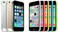 iPhone 5c/5s/6  CASH TODAY!  (unlocked, or locked to Fido)
