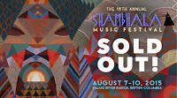 SHAMBHALA hard copy ticket.
