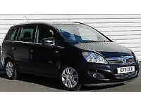 Vauxhall Zafira 1.8i 7 Seater Design Estate Low Mileage 63k FSH Stamps Long MoT