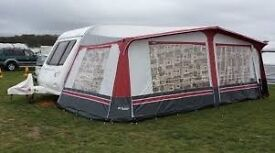 as new caravan awning 840-870cm