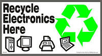FREE ELECTRONIC RECYCLE! FREE PICKUP!