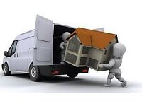 Man and van removal services single items part house moves courier service