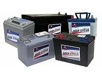 Batteries required will collect old ones free