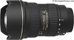 Tokina AT-X 16-28mm f2.8 Pro FX pour Canon