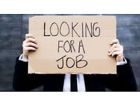 Searching for work