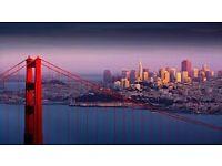 2 flight tickets, Manchester- San Francisco, 17 Sep