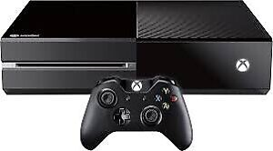 Xbox one with 1tb hard drive over 167 games