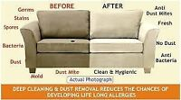STEAM CLEAN YOUR! (SOFA,LOVE-SEAT,CHAIR,SECTIONAL,DINING SET)