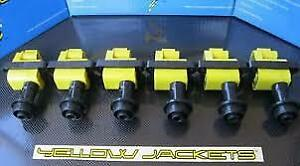 Nissan RB25 Yellow jacket coil pack set