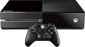 xbox one 500gb boxed has controller black ops 2/3 and fifa 18 all in workiing order