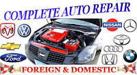 CERTIFIED, AFFORDABLE, AUTOMOTIVE SERVICE & REPAIR