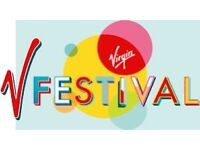 V festival weekend ticket