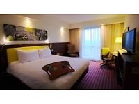 Exeter 3 night break at Hampton by Hilton Hotel double room only from tonight 27th Dec