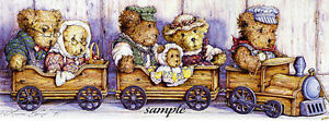 Laura Berry - Teddy's Express Limited Edition Print