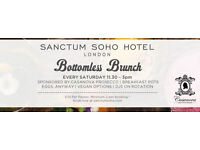 BOTTOMLESS PROSECCO BRUNCH WITH LIVE MUSIC