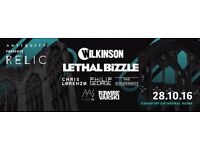 Antiquity pres. Relic | Wilkinson, Lethal Bizzle, Chris Lorenzo + More