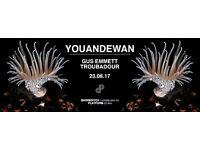 Platform presents Youandewan (Aus Music)
