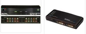 Audio/Video Switches for a CHEAPER PRICE from $40.00.