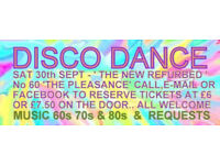FUN & LAUGHTER GROUP 50 & beyond DISCO DANCE SAT SEPT 30th