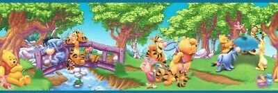FIVE Winnie the Pooh Prepasted Wallpaper Border 25 Yds / 75 Feet 83182020 NEW