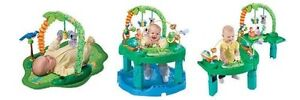 Evenflo Triple Fun Animal Planet Exersaucer
