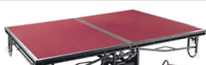 Folding Stage with carpet surface  for SALE