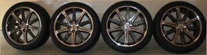 Acura TL 4 mags original + pneus été
