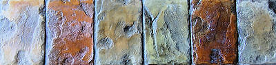 Concrete Border Stamp Roller Set - Decorative Roman Cobble Walttools