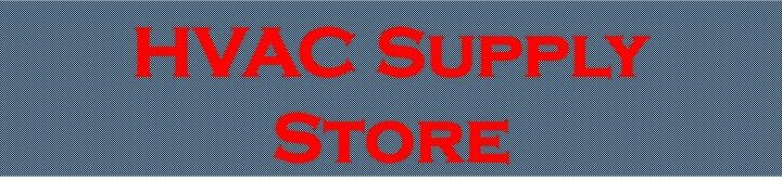 HVAC Supply Store