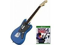 Rock Band 4 Guitar Bundel With Fender Jaguar Guitar ( Boxed Mint Condition)