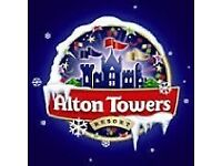 Alton towers resort two tickets each for 14.99