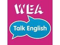 "Volunteer friends needed for WEA's ""Talk English"" Programme in Wakefield"