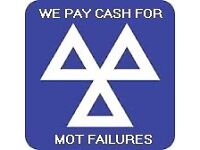 MOT FAILURES WANTED