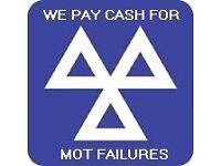 MOT FAILURES WANTED