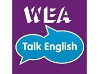 "Volunteer ESOL teachers needed for WEA's ""Talk English"" Programme in Scunthorpe"