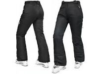Brand New Trespass Lohan Ladies Salopettes size small in black.