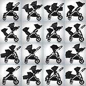 Baby Jogger City Select Single/Double Pushchair