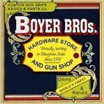 BOYER BROs. HARDWARE