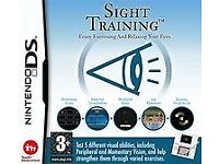 SIGHT TRAINING NINTENDO DS FOR HEALTHY EYE EXERCISES, FREE POSTAGE WITHIN THE UK