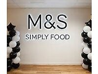 M&S Simply Food Sales Assistant recruiting at the Royal Surrey Hospital