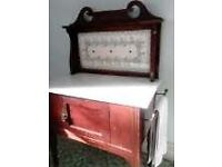 Marble-topped Victorian Washstand