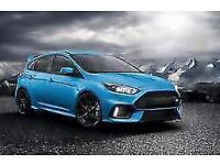 Ford Focus RS Nitrous Blue last of the MK3 RS