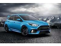 Ford Focus RS Nitrous BLUE with all options except sunroof