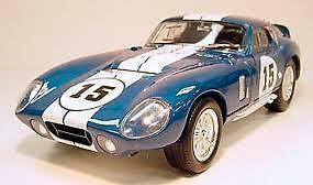 Road Legends Shelby Cobra & Daytona  1/18 Scale Diecast Cars