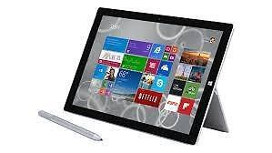 Microsoft Surface 3 Tablet (10.8-Inch, 64 GB, Intel Atom)