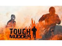 3 x Tough mudder North West tickets - Saturday 9th September